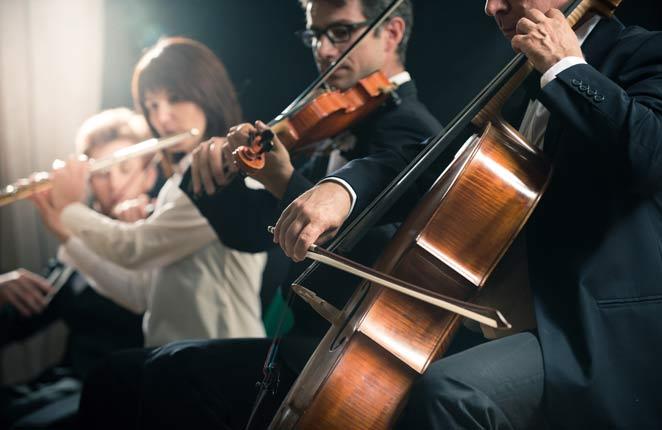 Entspannungsmusik klassische Musik Orchester