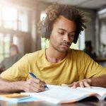 Entspannungsmusik lernen Student Schüler