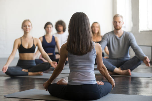 Meditationsmusik Yoga Studio