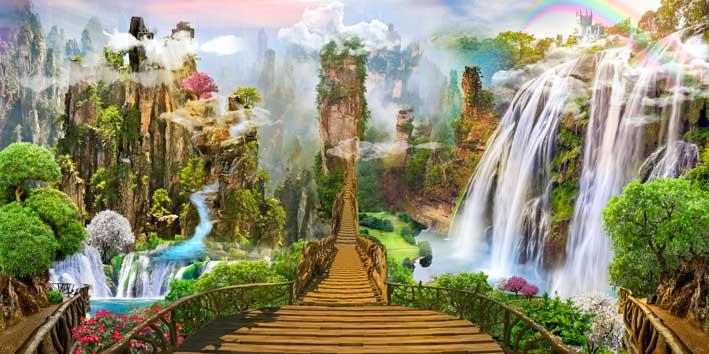 Fantasiereise für Kinder Märchenland