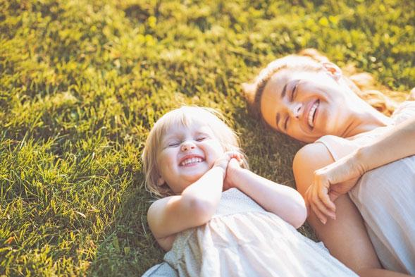 Traumreise für Kinder Mutter